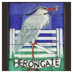 Herongate village sign